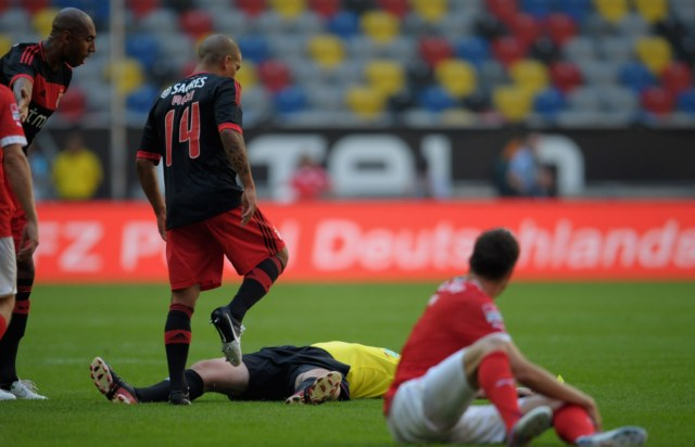 Луизао получил дисквалификацию за удар арбитра