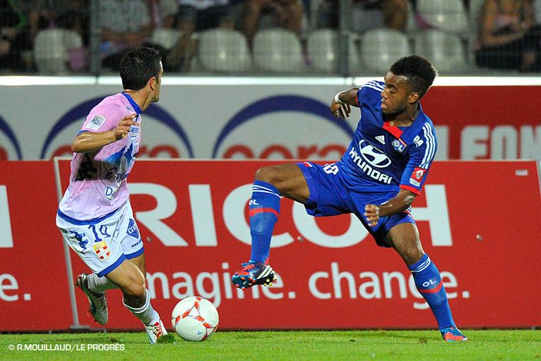 Лига 1. «Эвиан» набрал первое очко в чемпионате в матче против «Лиона»