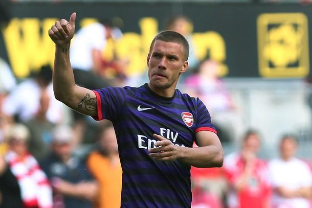 Подольски хочет помочь «Арсеналу» выиграть трофей