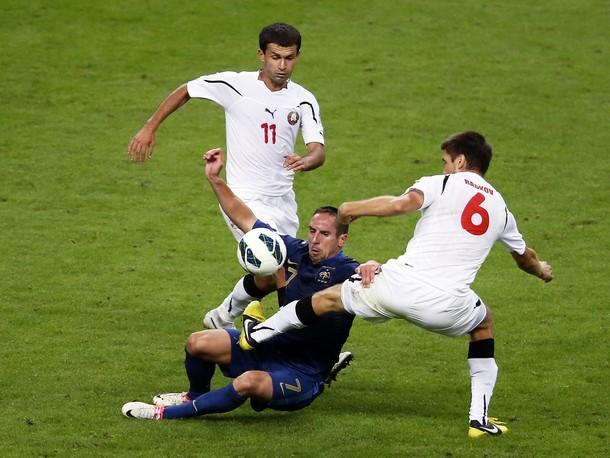 Рибери не примет участия в матче против сборной Беларуси?