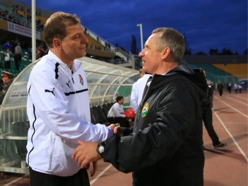 Игрокам «Локомотива» представлен новый тренерский штаб во главе с Кучуком