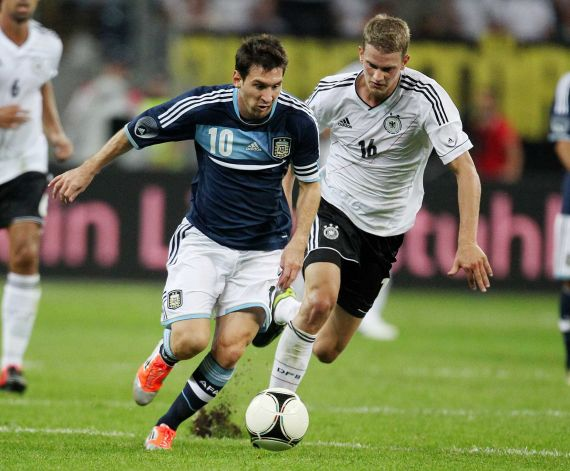 Argentina defeated Germany 3-1 in a friendly game
