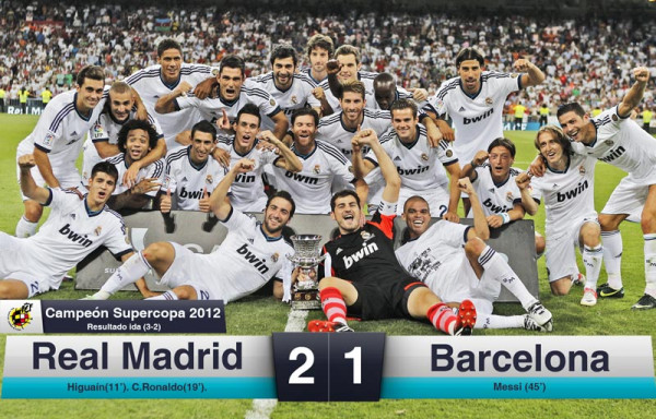 Real Madrid claim the Spanish Supercup