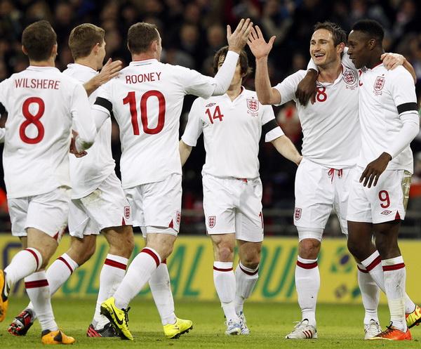 Чемпионат мира-2014. Отборочный турнир. Англия — Польша — 2:0. Хроника событий