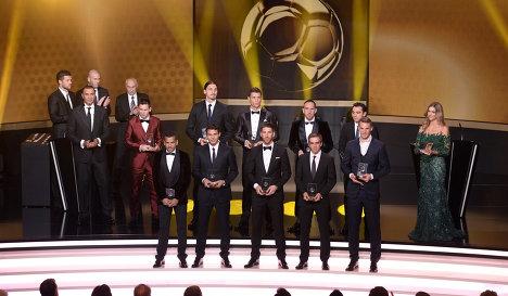 Стала известна символическая сборная 2013 года
