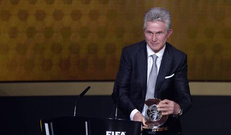 Хайнкес назван лучшим тренером 2013 года