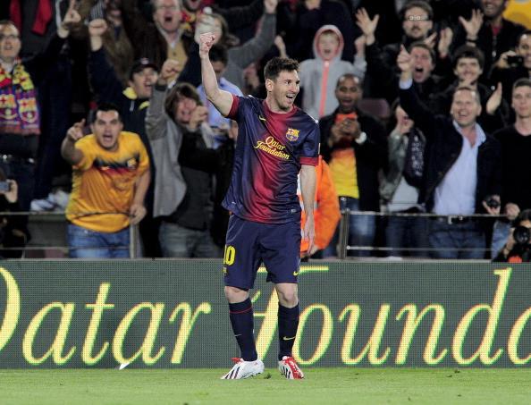 Испанская Ла лига. 34-й тур. «Барселона» — «Бетис» — 4:2. «Возвращение Месси»