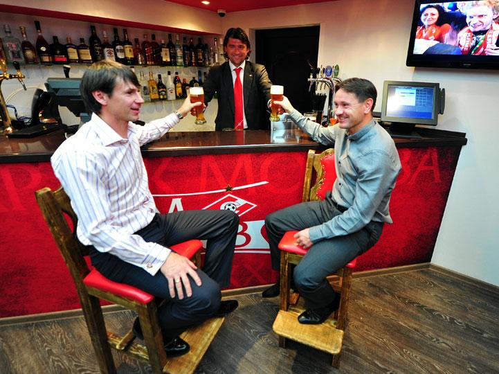 В Химках открылся официальный футбольный ресторан «Спартака»