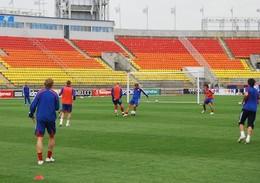 Шатов не примет участие в тренировке молодежной сборной России