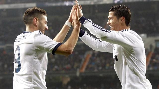 Real is closer to semi-final