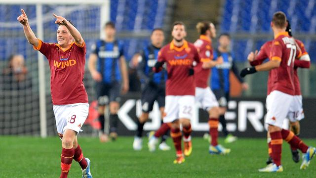 Roma steps closer to the Italian Cup final