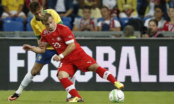 Товарищеские матчи. Швейцария — Бразилия — 1:0. Хроника событий