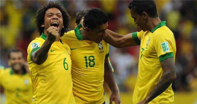 Кубок конфедераций. Групповой этап. Бразилия — Мексика. Онлайн-трансляция начнется в 23.00