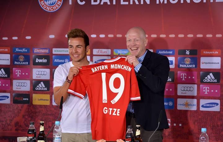 Гётце представлен в качестве игрока «Баварии» (ФОТО)