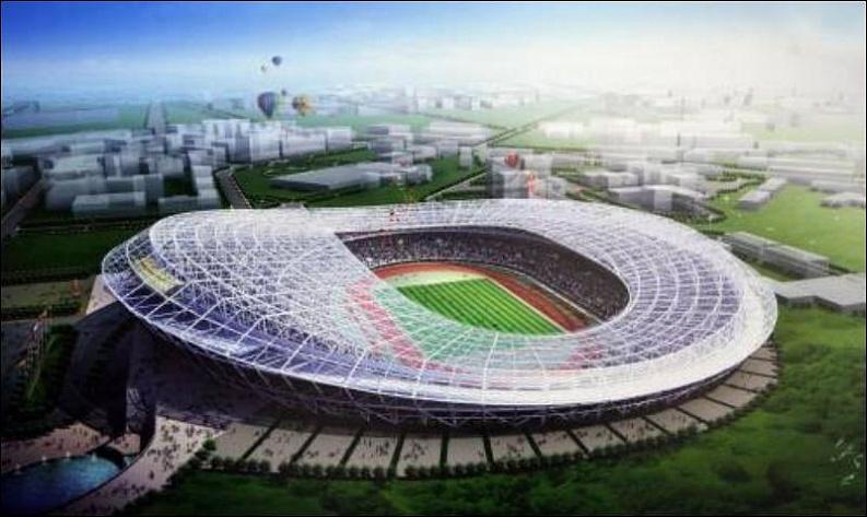 На киевском стадионе «Олимпийский» обнаружена течь