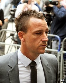 John terry is found not guilty of racial abuse