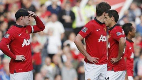 Английская Премьер-лига. «Манчестер Юнайтед» — «Вест Бромвич» — 1:2. Хроника событий