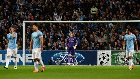 Лига чемпионов-2013/14. «Манчестер Сити» дома проиграл Баварии»