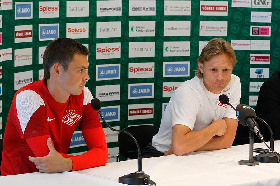 Лига Европы-2013/14. Раунд плей-офф. «Спартак» — «Санкт-Галлен». Прогноз. «У стенки»