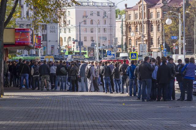 В кассах минского «Динамо» растут очереди за билетами на матч БАТЭ с «Баварией»