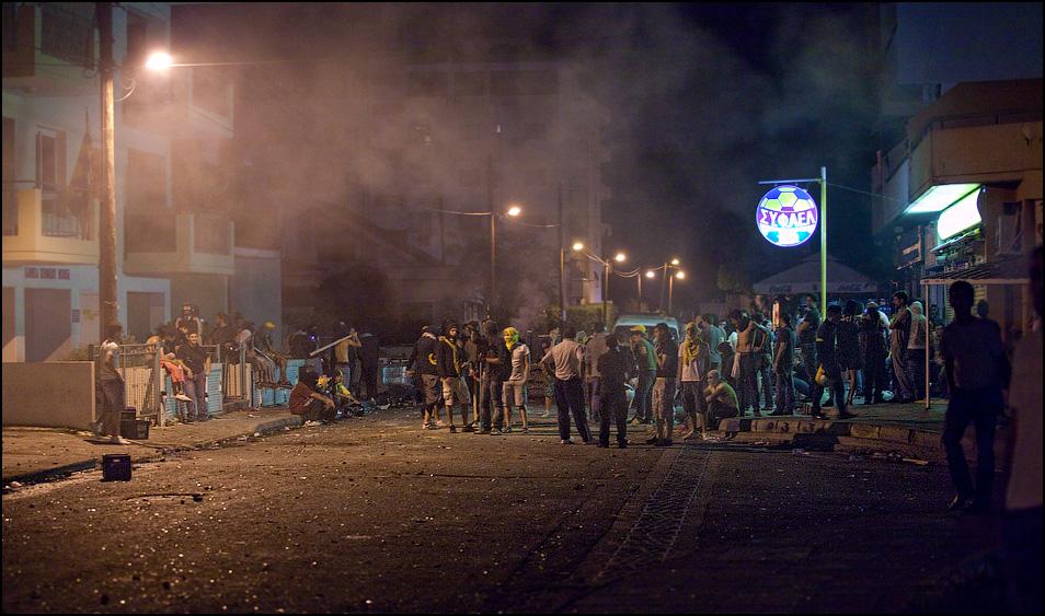 Беспорядки в Египте на футбольной почве