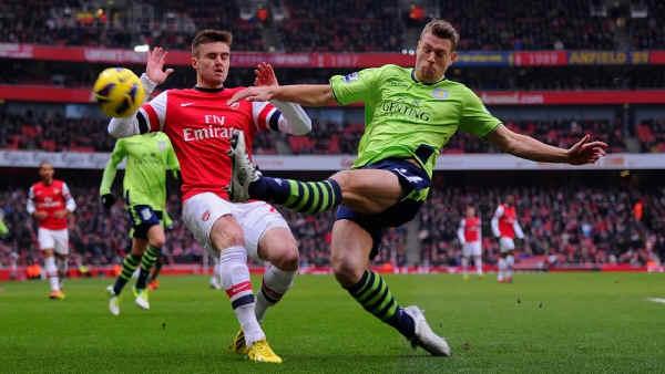 Английская Премьер-лига. 27-й тур. «Арсенал» — «Астон Вилла» — 2:1. «Этот день Касорлы»