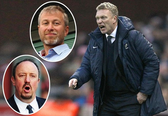 Abramovich wants Everton boss Moyes to take charge of Chelsea