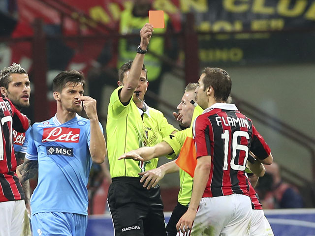 Serie A results: Milan and Napoli share points at San Siro