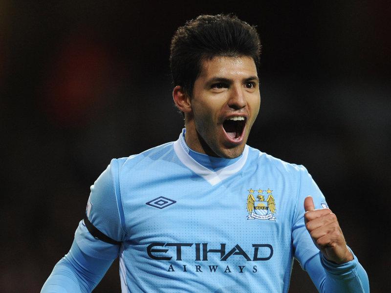 Серхио Агуэро счастлив в «Манчестер Сити»