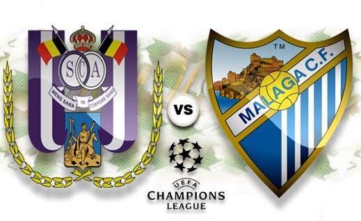 Лига чемпионов-2012/13. Группа «C». «Андерлехт» ― «Малага» ― 0:3. «Стопроцентный результат»