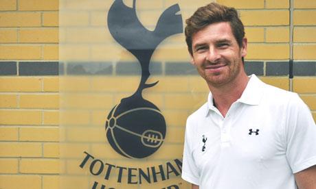 Tottenham chairman supports Andre Villas-Boas.