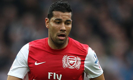 Andre Santos returned to Arsenal