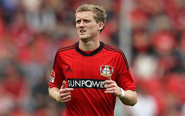 Chelsea sealed a deal for Leverkusen's Schurrle