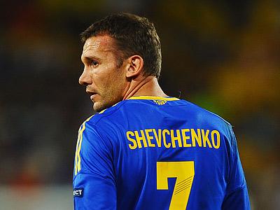 Andriy Shevchenko is Ukraine's new manager?