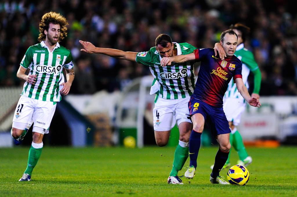 Испанская Ла лига. 13-й тур. «Бетис» — «Барселона» — 1:4. Хроника явной несправедливости в Севилье