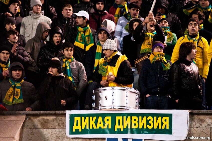Болельщики «Анжи» проведут митинг против УЕФА