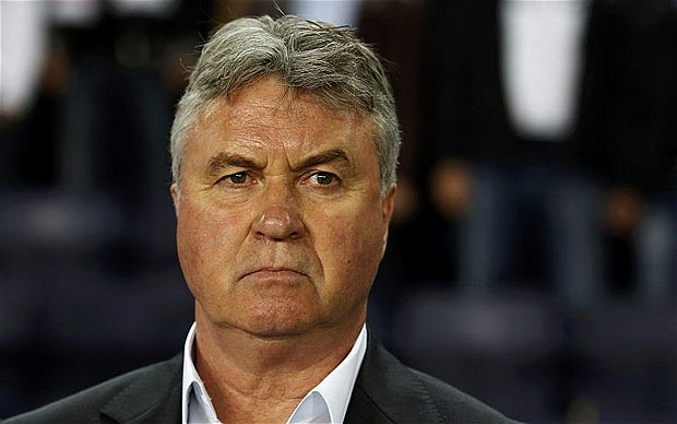 Hiddink signed new deal with Anzhi