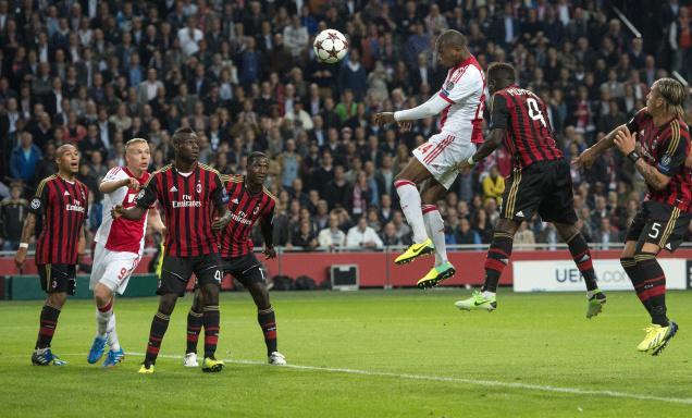 Лига чемпионов-2013/14. «Милан» — «Аякс» — 0:0. Хроника событий