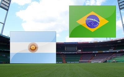 Матч Аргентина — Бразилия отменен