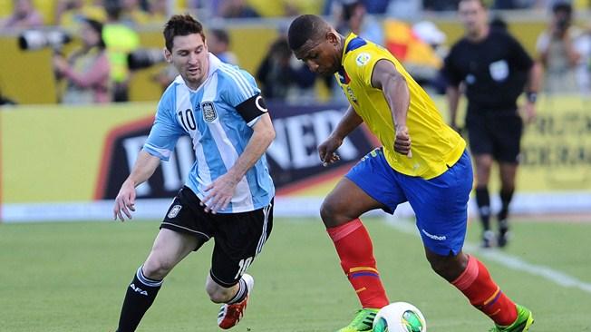 World Cup qualifiers results (CONMEBOL): Argentina drop points at Ecuador, Columbia beat Peru