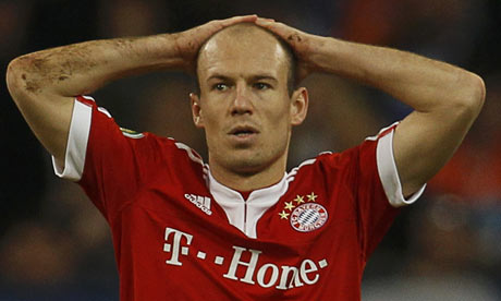 Robben: 'I presume my possible hanging up the boots on the peg'