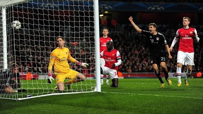 Лига чемпионов-2012/13. 1/8 финала. «Бавария» — «Арсенал». Прогноз. «А вы верите в чудеса?»