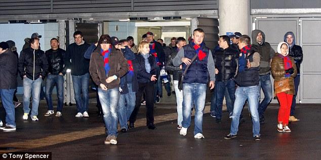Фанаты «Манчестер Сити» скандировали «Вы расистские ублюдки!» болельщикам ЦСКА