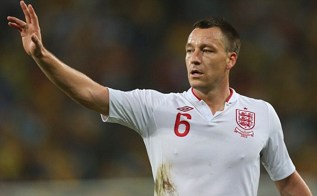 John Terry announced his retirement from international career