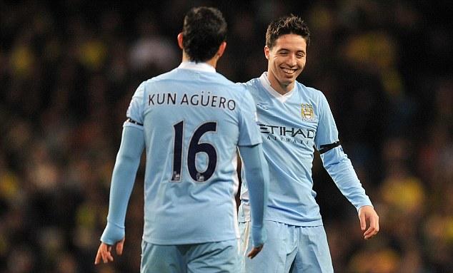 Английская Премьер-лига. «Манчестер Сити» — «Манчестер Юнайтед». Агуэро и Насри отправляют гостей в нокаут