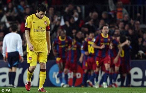 Сеск Фабрегас: «Арсенал» нельзя списывать со счетов»