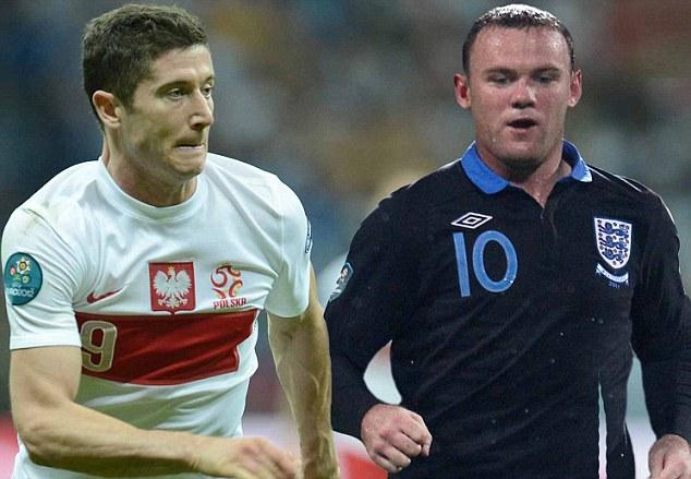 Отборочный турнир ЧМ-2014. Англия — Польша. Онлайн-трансляция начнется в 23.00