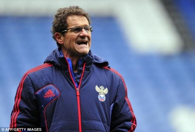 Капелло назвал расширенный состав сборной России на товарищеские матчи с командами Сербии и Южной Кореи