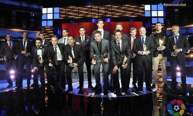 Роналду признан MVP Ла лиги по итогам сезона-2012/13, Месси — лучшим нападающим, Симеоне — лучшим тренером