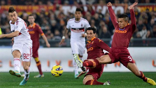 «Милан» — «Рома» — 0:0. Хроника событий